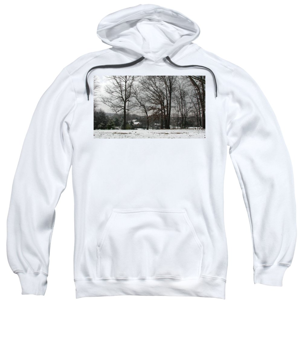 Landscape Sweatshirt featuring the photograph East Tennessee Winter by Todd Blanchard