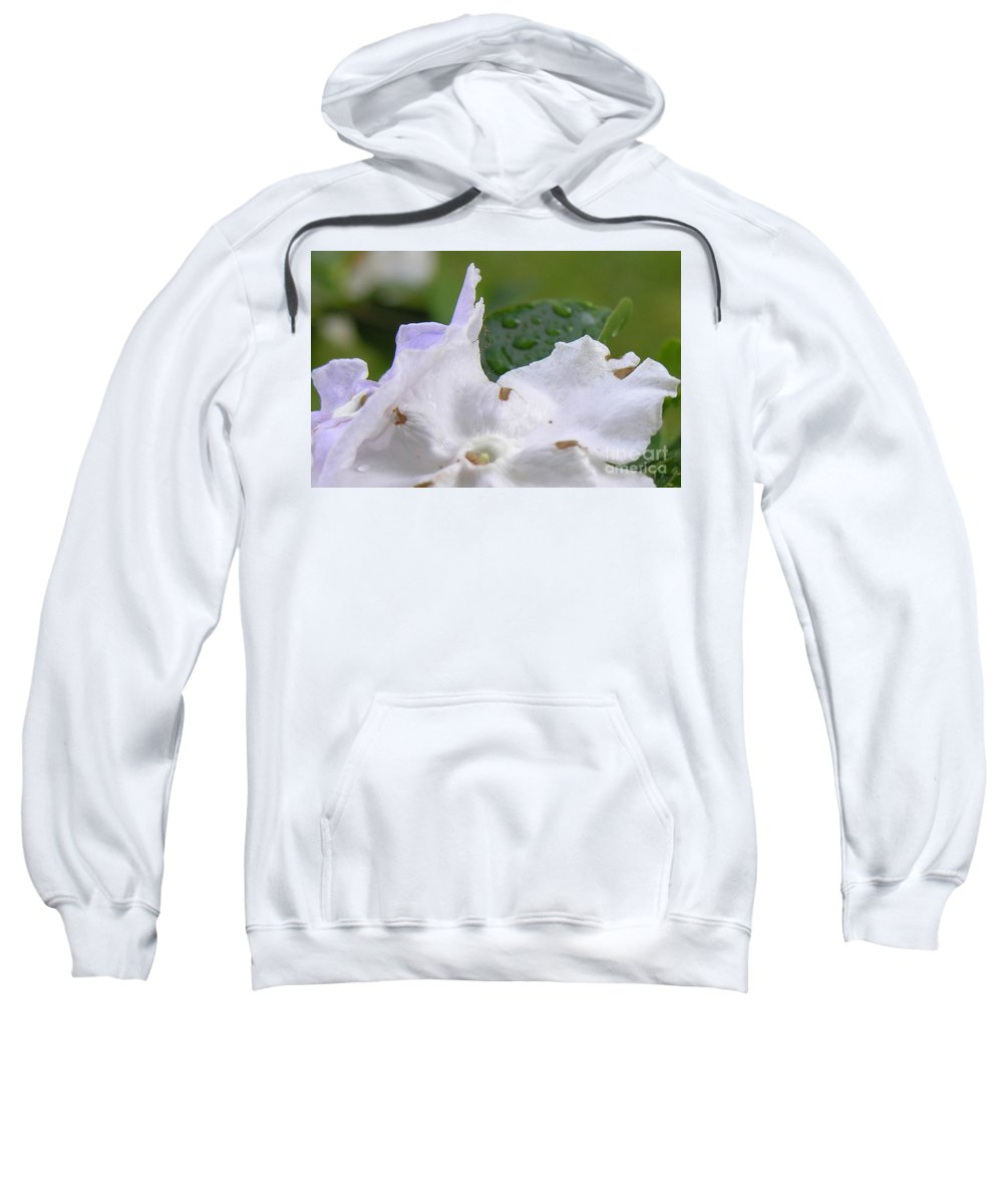 Flower Sweatshirt featuring the photograph Easter Surprise by Richard Rizzo