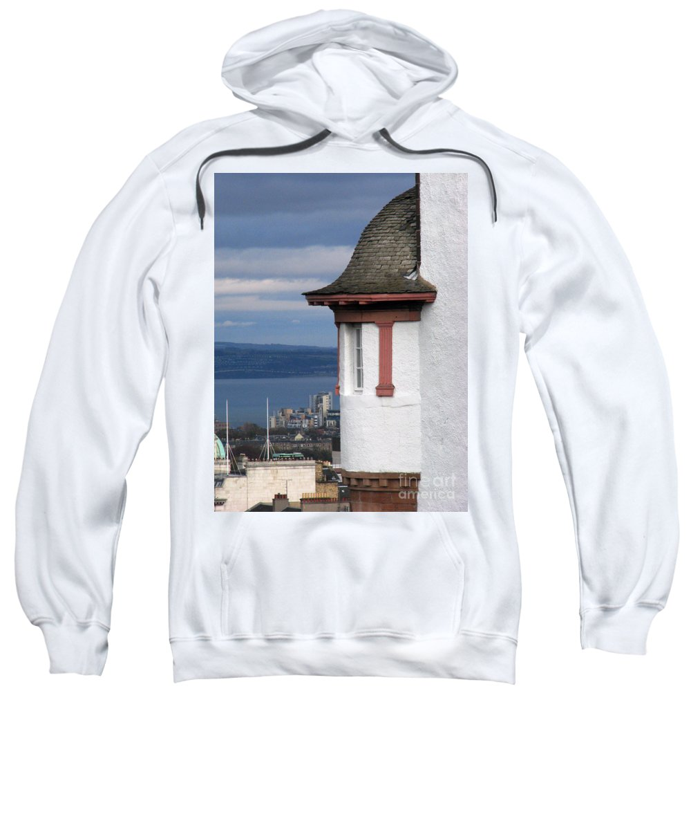 Scotland Sweatshirt featuring the digital art Edinburgh Scotland by Amanda Barcon