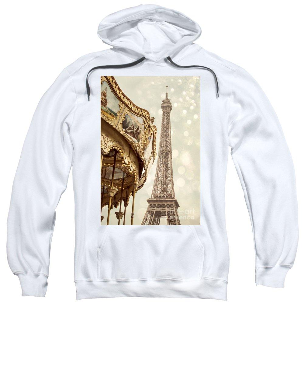 Amusement Sweatshirt featuring the photograph Eiffel Tower by Juli Scalzi