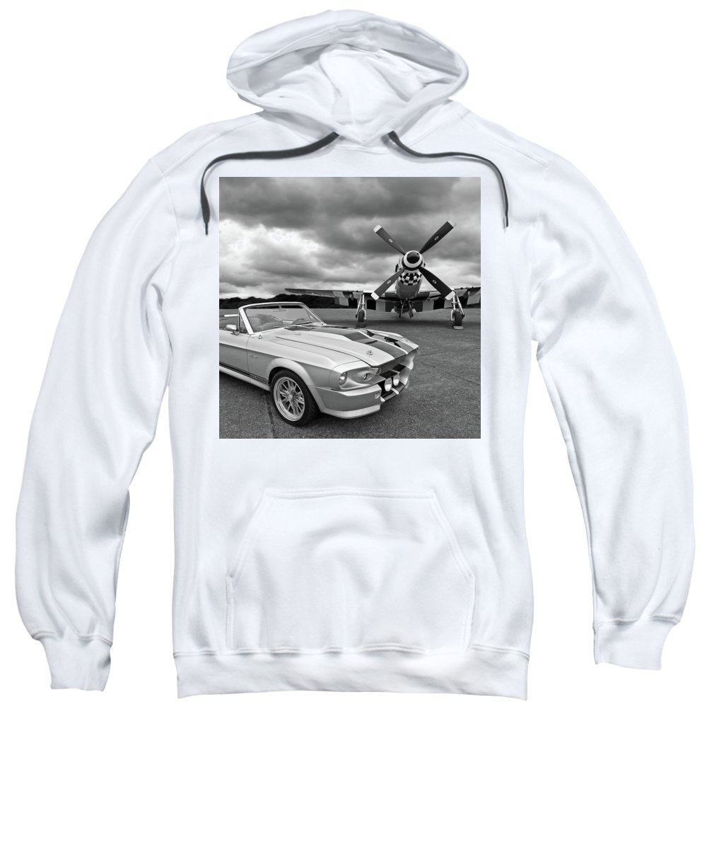 Mustang Gt Hooded Sweatshirts T-Shirts