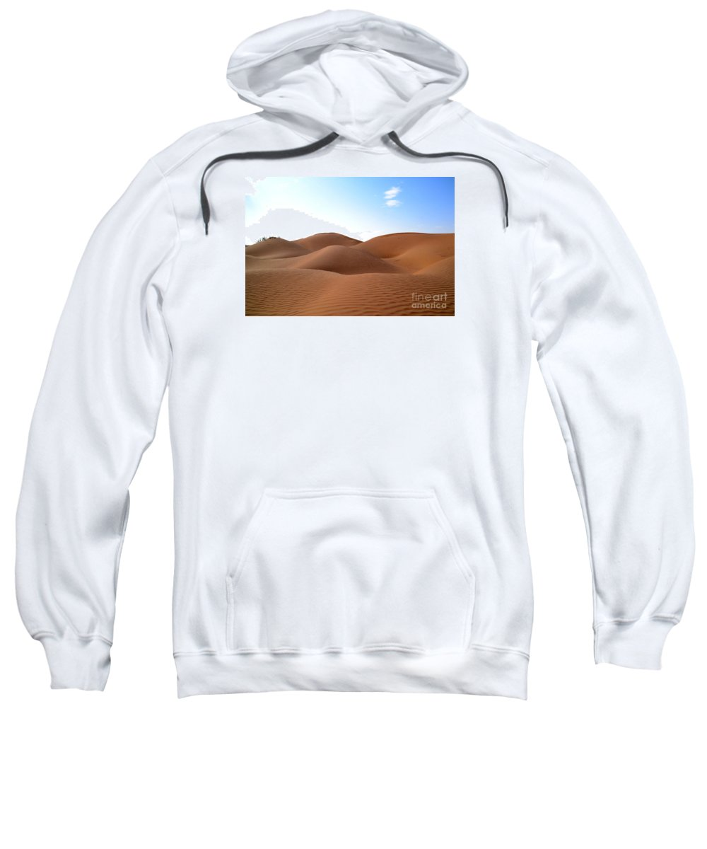 Desert Sweatshirt featuring the photograph Emtpy Quarter Dunes # 1 by Rossano Ossi