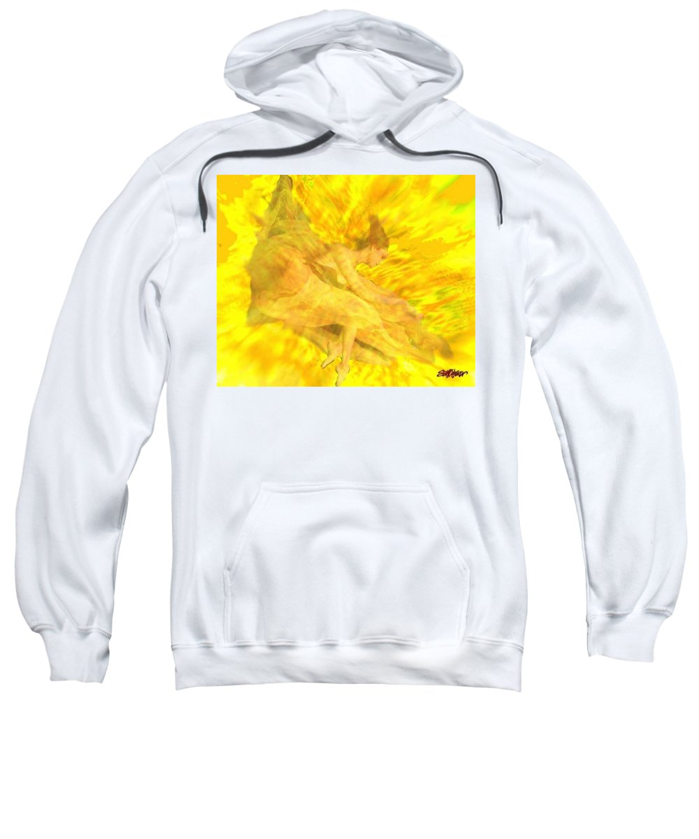 Joy Sweatshirt featuring the digital art Endless Joy by Seth Weaver