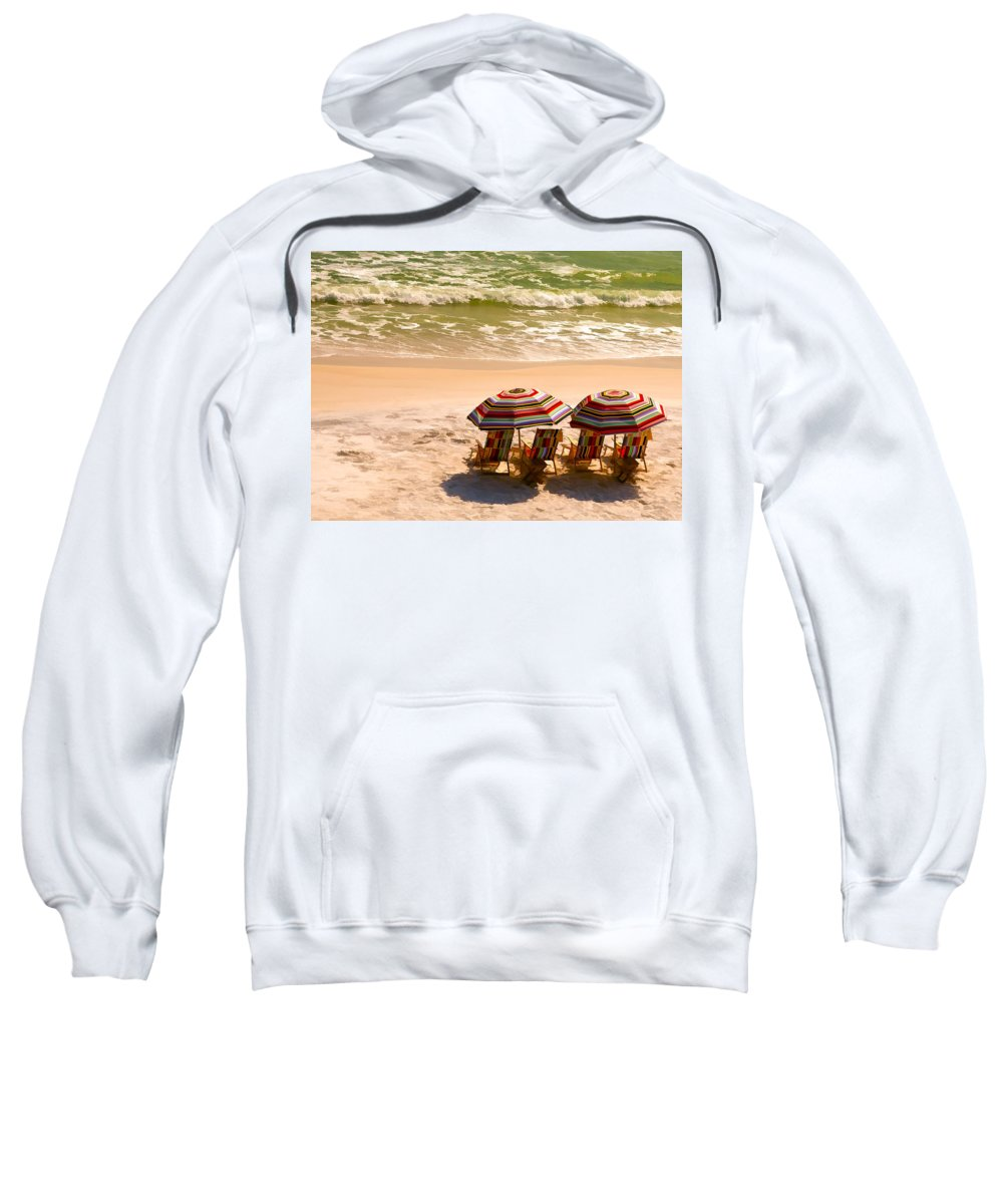 Alys Beach Sweatshirt featuring the photograph Escape by Janet Fikar
