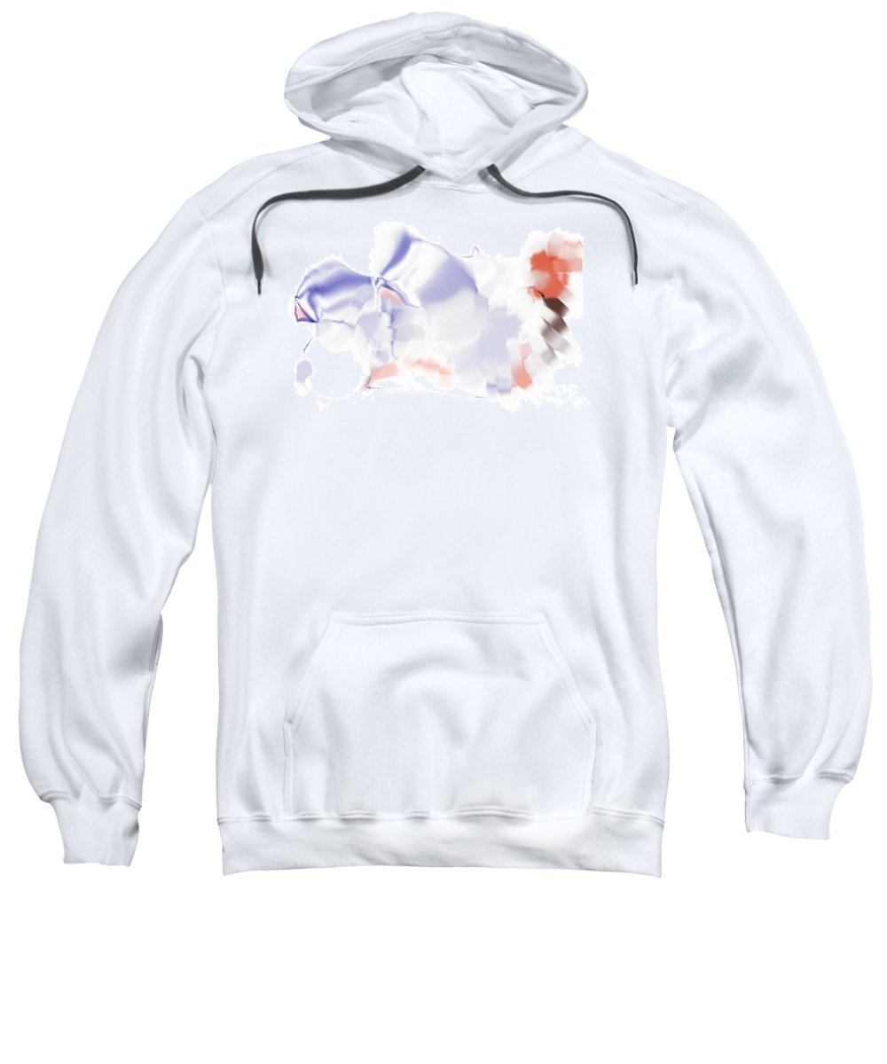 Ethereal Sweatshirt featuring the digital art Ethereal by Ron Bissett