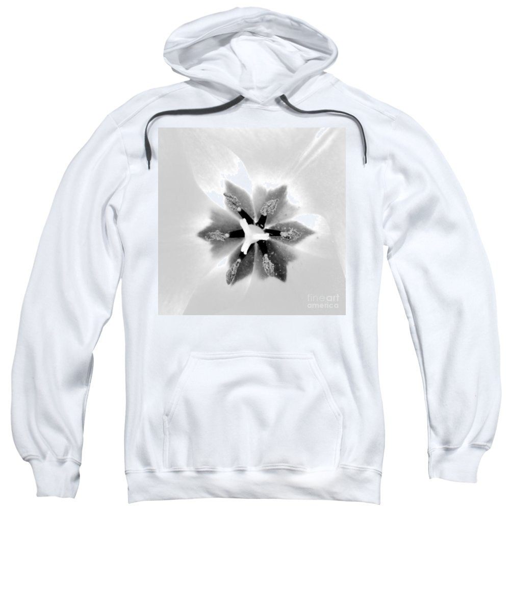 Flower Sweatshirt featuring the photograph Etoile A Six Branches by Morgan Veissiere