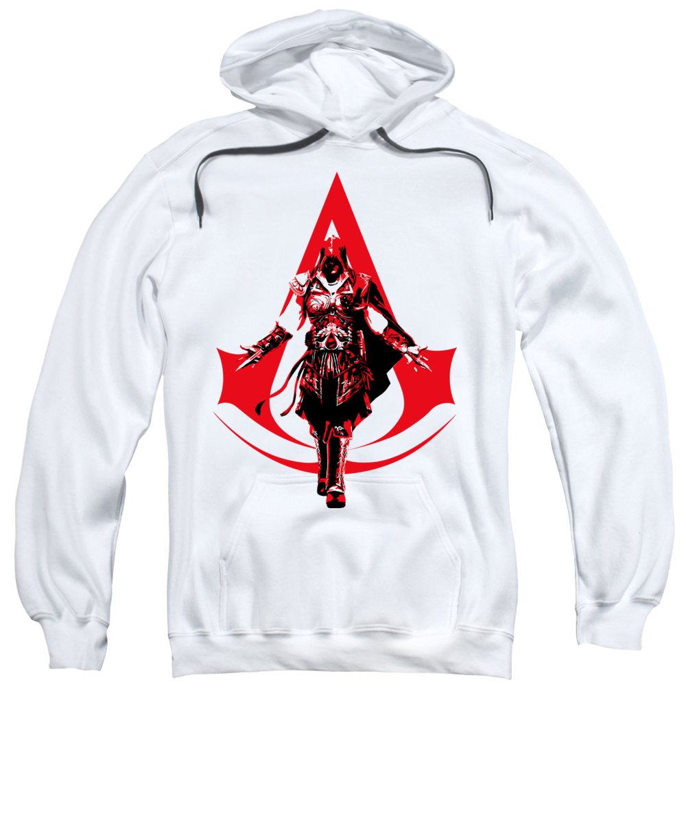 Ezio Assassin S Creed Adult Pull Over Hoodie For Sale By Danilo Caro