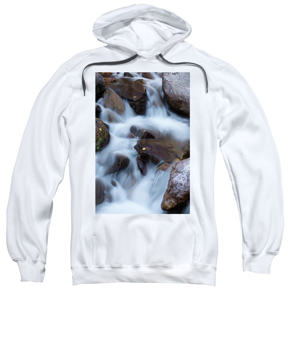 Falls Sweatshirt featuring the photograph Fall Falls In Vail by John Daly