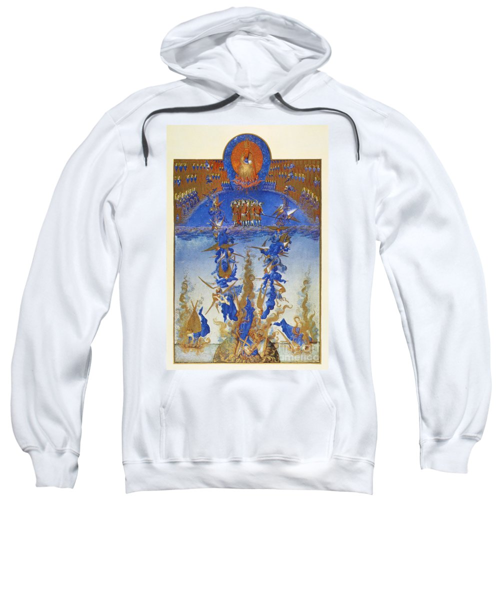 15th Century Sweatshirt featuring the photograph Fall Of Rebel Angels by Granger