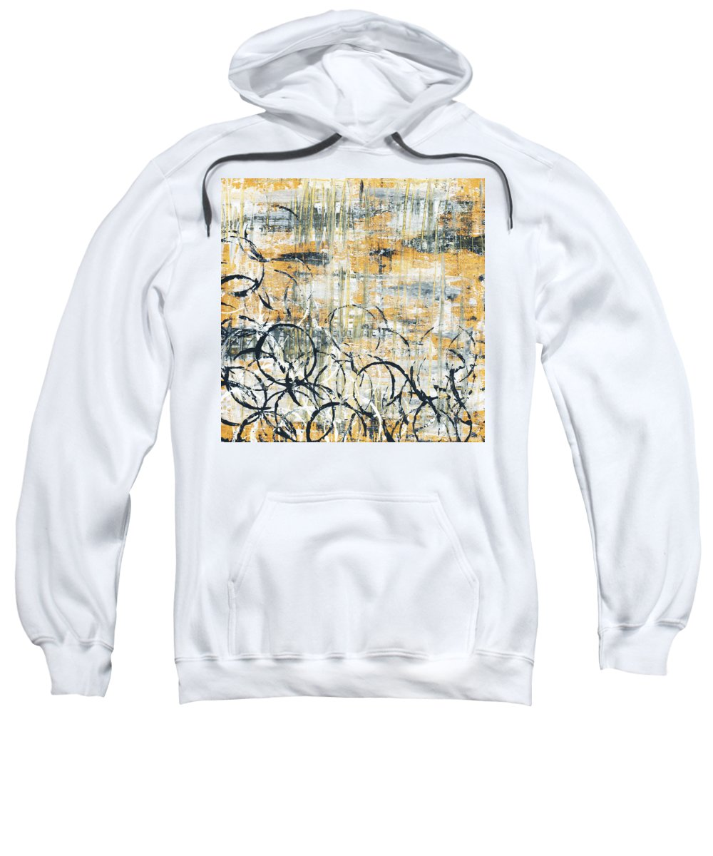 Painting Sweatshirt featuring the painting Falls Design 3 by Megan Duncanson