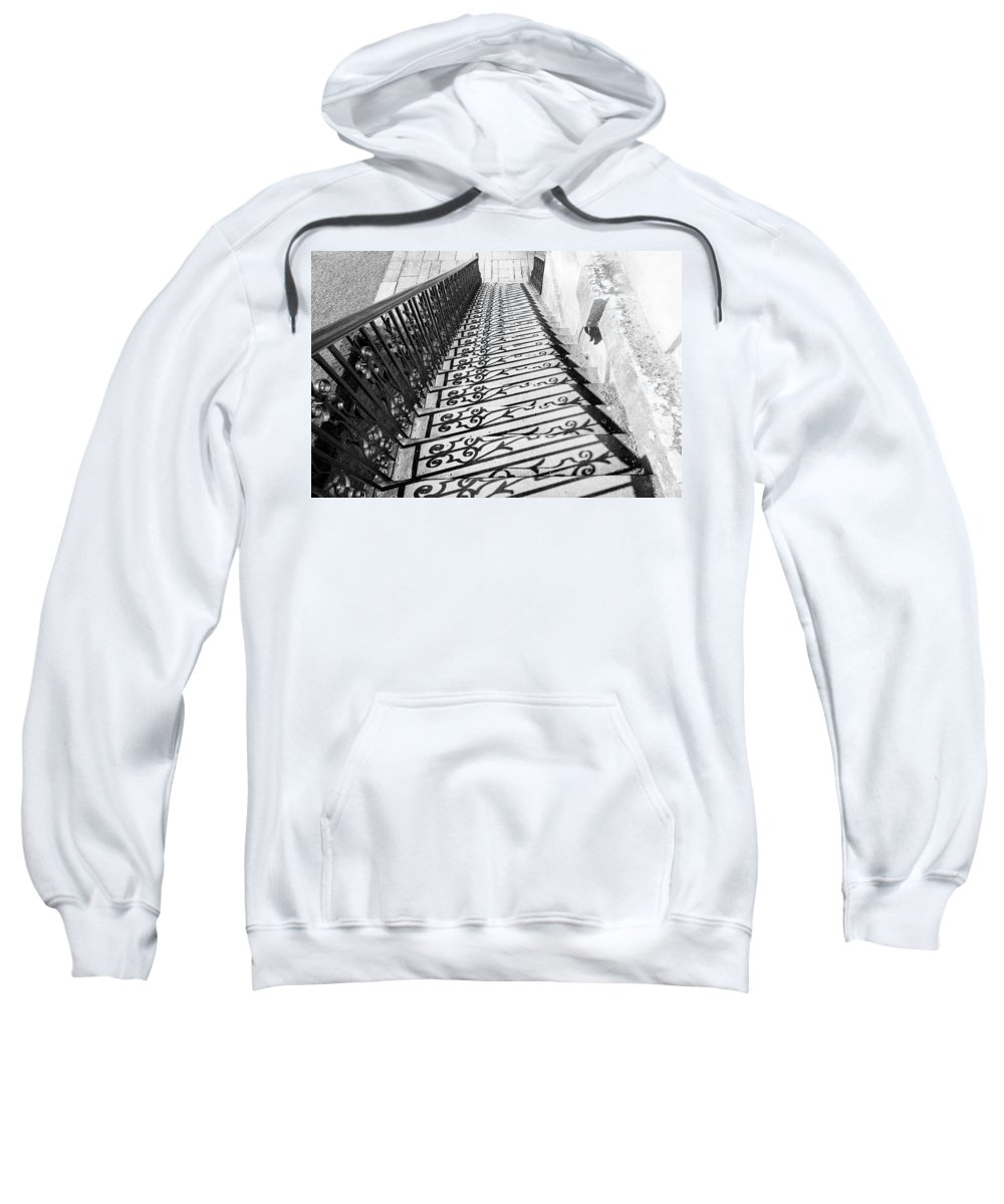 Blenheim Palace Sweatshirt featuring the photograph Fancy Shadows by Greg Fortier