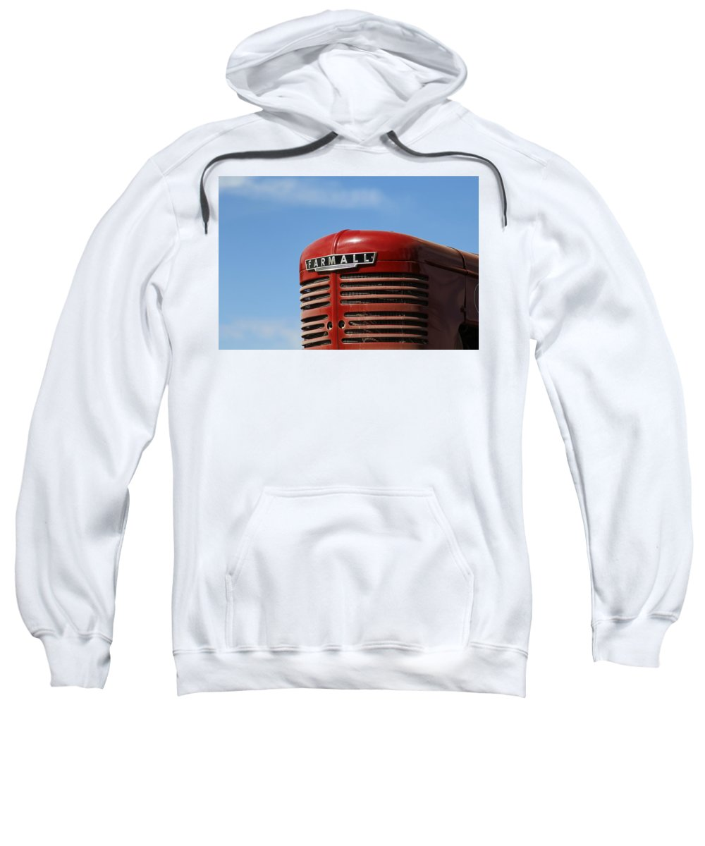 Tractor Sweatshirt featuring the photograph Farmall Tractor by Jeff Krouldis