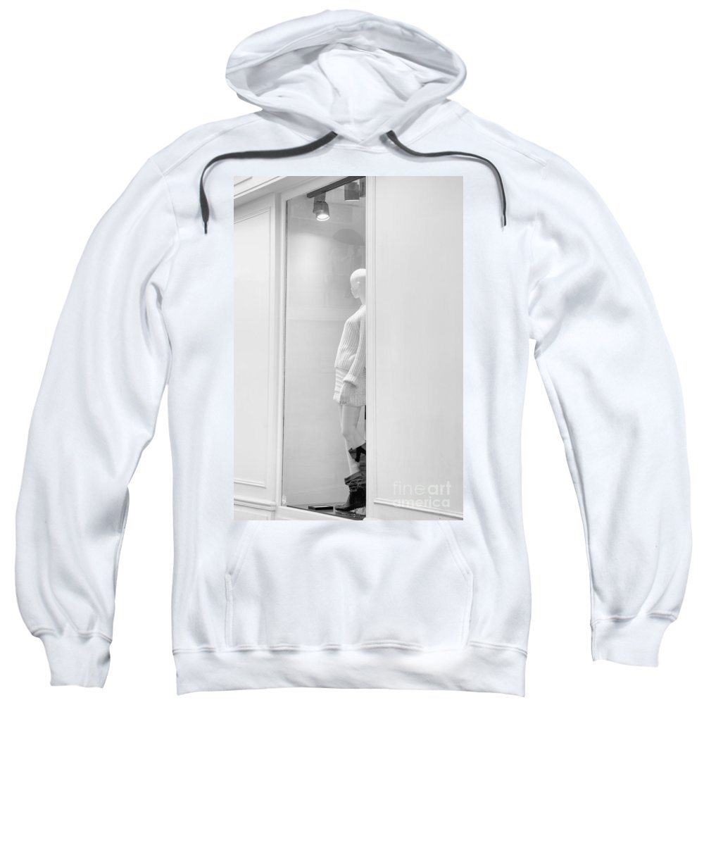 Fashion Sweatshirt featuring the photograph Fashion Capital Paris by Hitendra SINKAR