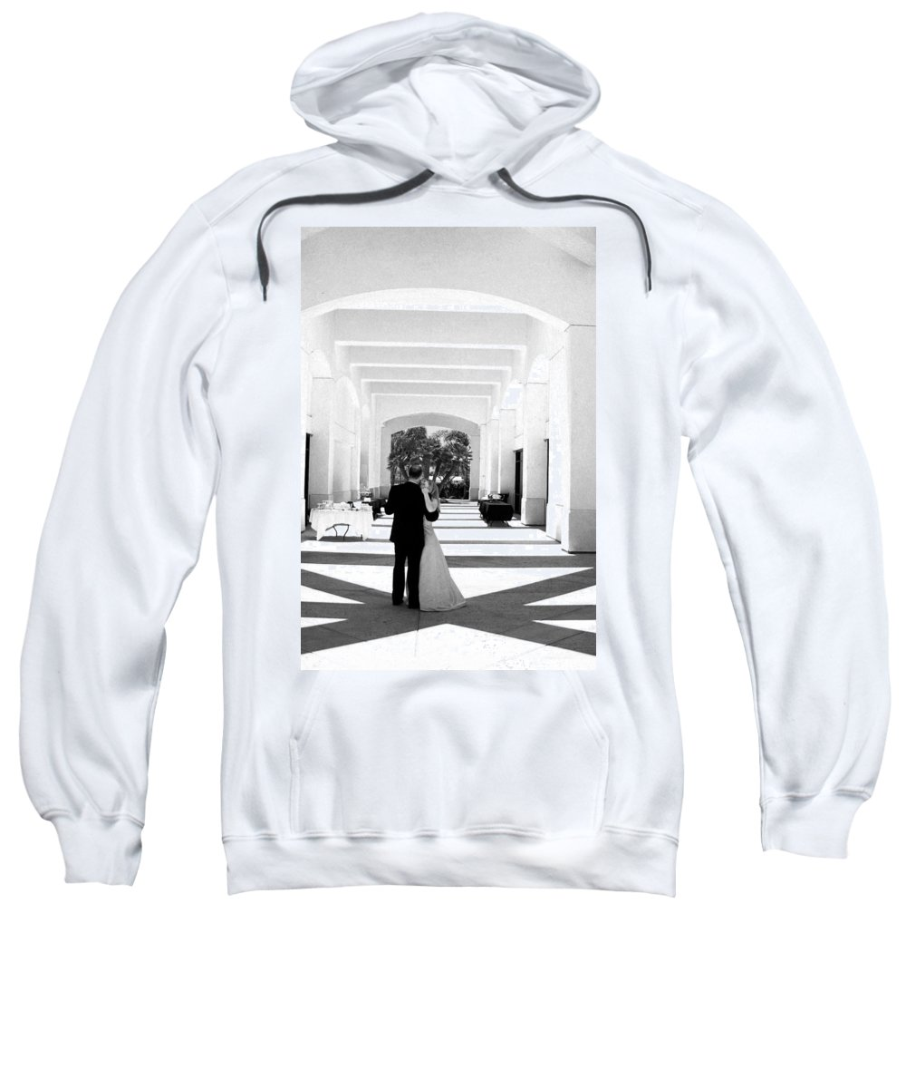 Dance Sweatshirt featuring the photograph Father And Bride by Anthony Jones