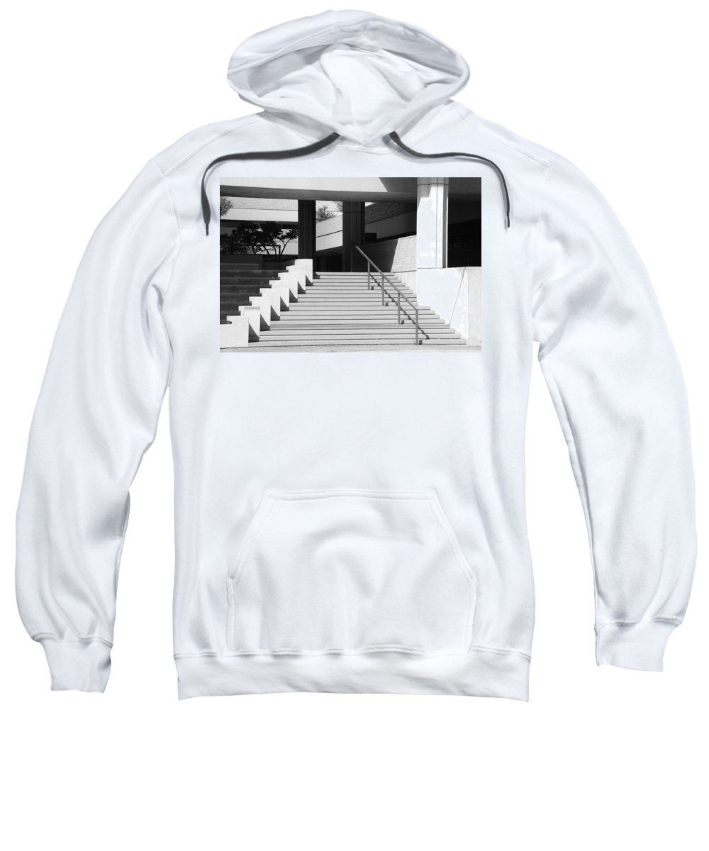 Architecture Sweatshirt featuring the photograph Federal Stairs by Rob Hans