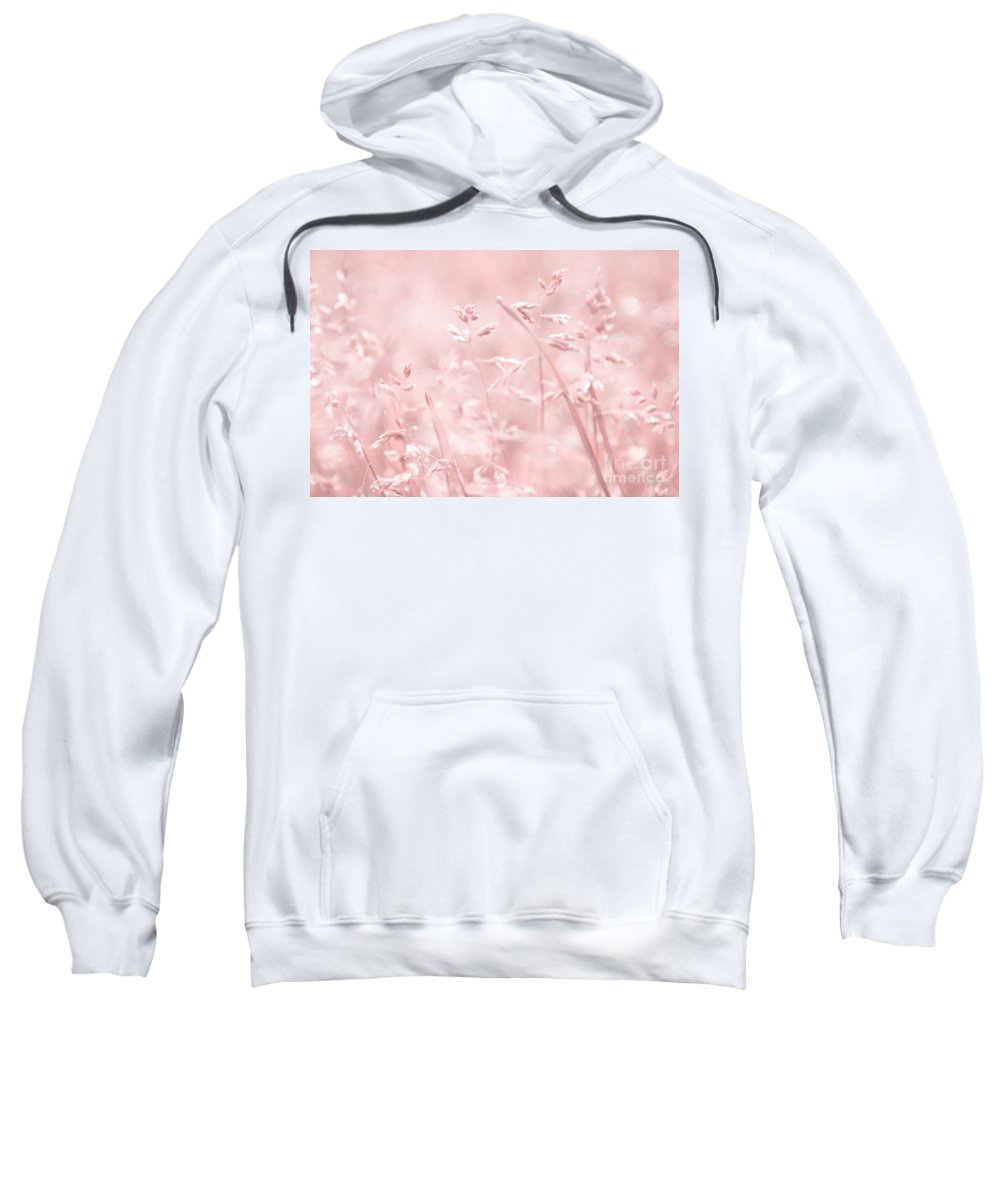 Pink Sweatshirt featuring the photograph Femina by Aimelle