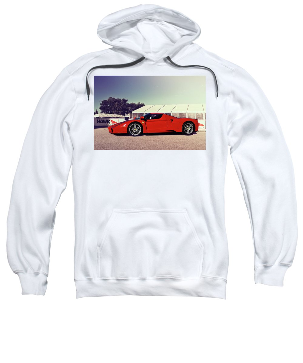 Ferrari Sweatshirt featuring the photograph Ferrari Enzo by Joel Witmeyer