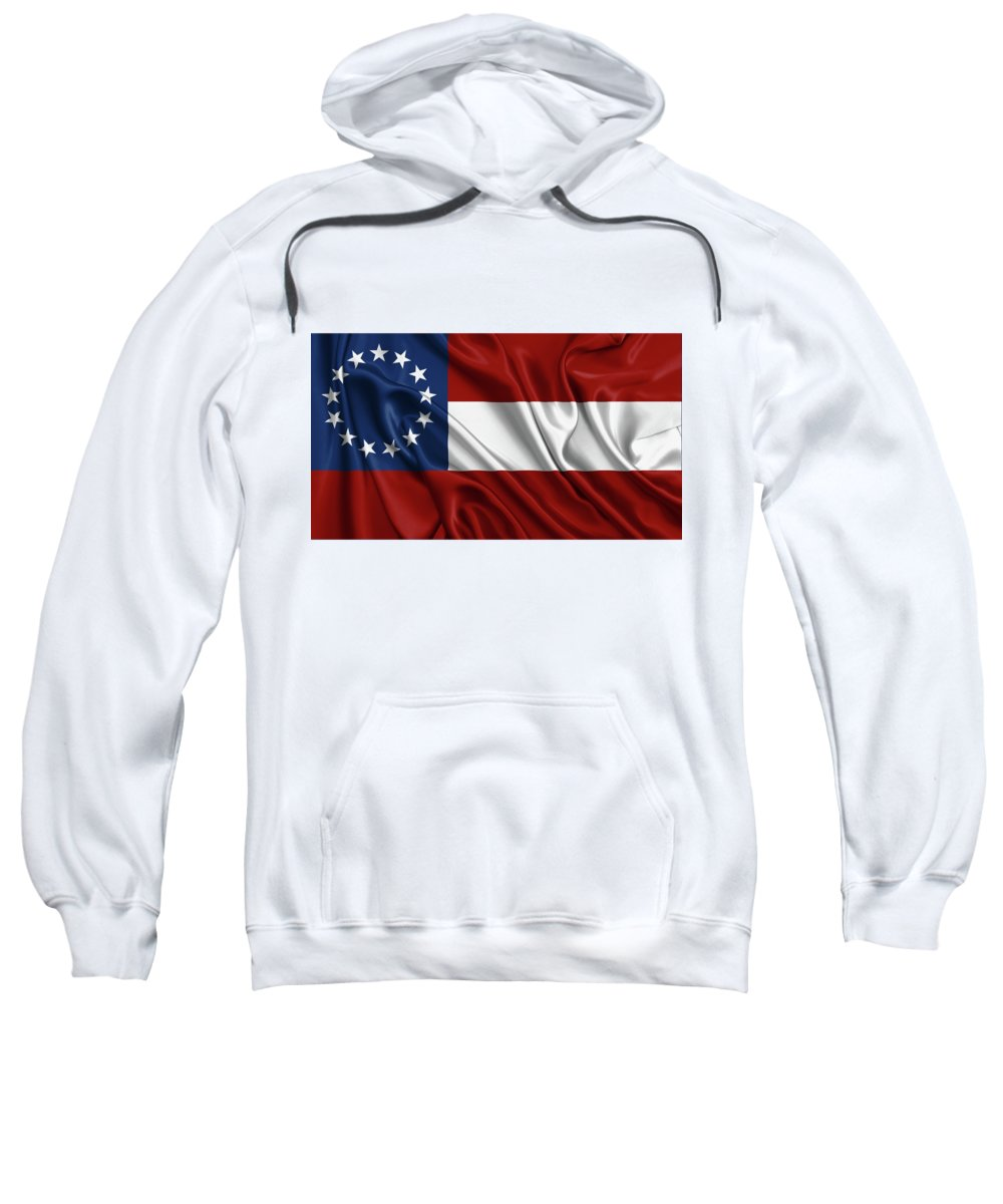 USA Flag Americana Patriotic United States of America Hoodie Pullover
