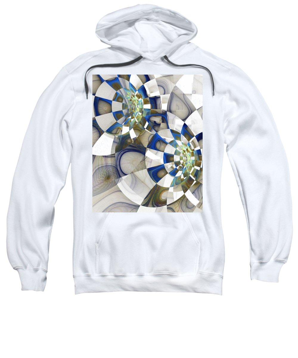 Digital Art Sweatshirt featuring the digital art Flight by Amanda Moore