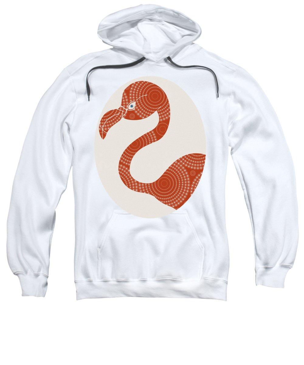 Flamingo Hooded Sweatshirts T-Shirts