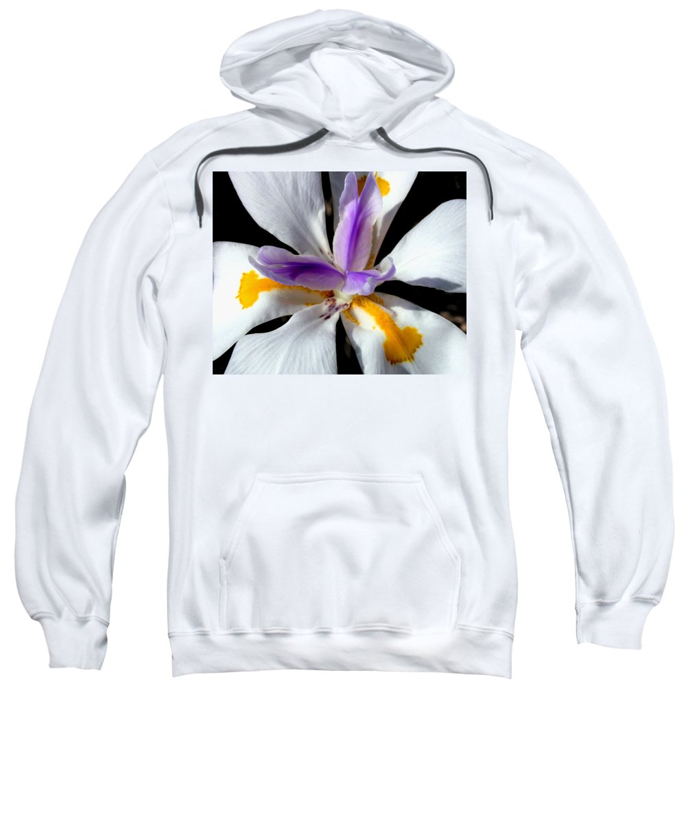 Flowers Sweatshirt featuring the photograph Flower by Anthony Jones