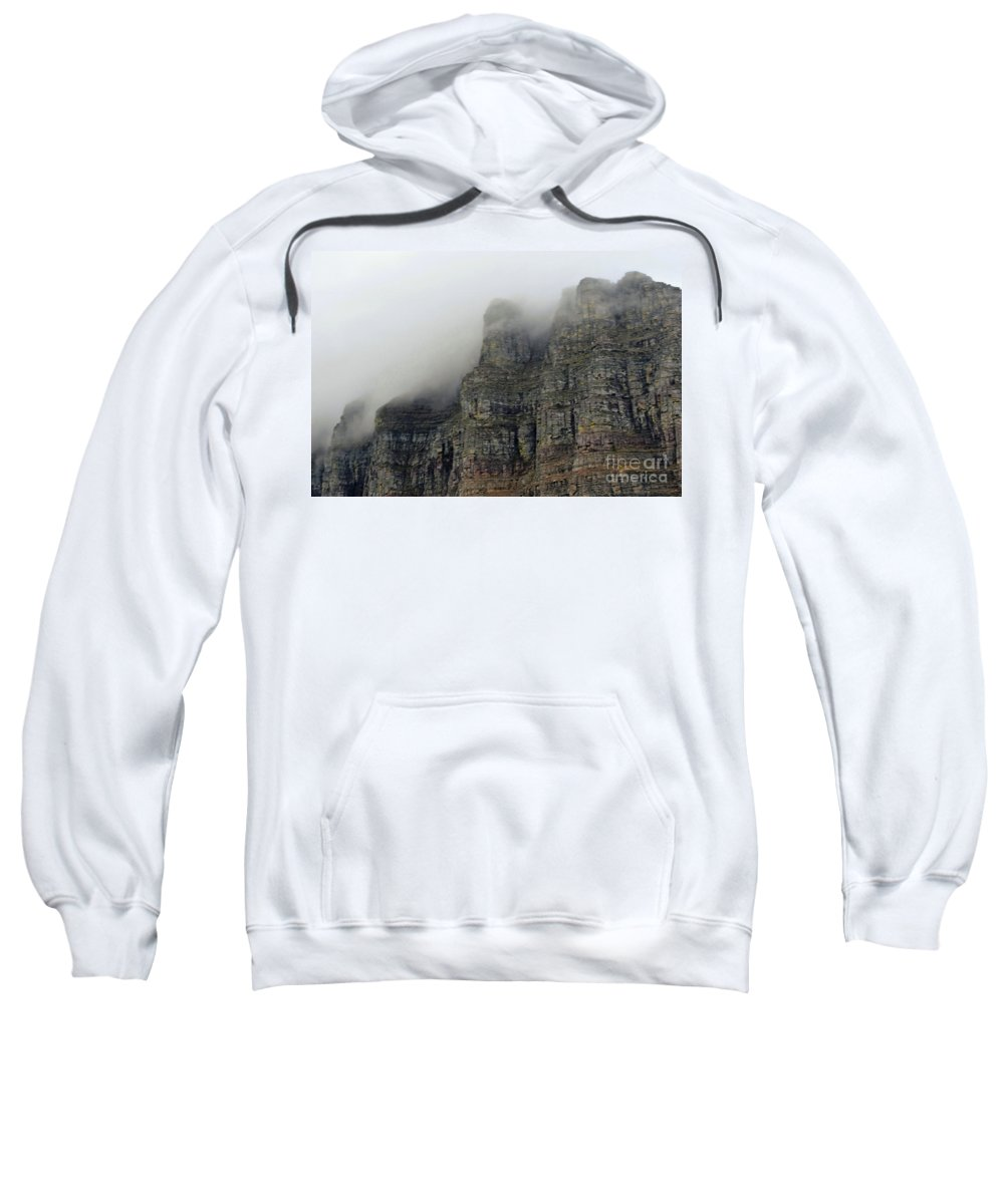 Mountain Sweatshirt featuring the photograph Fog On The Mountains by Hughes Country Roads Photography