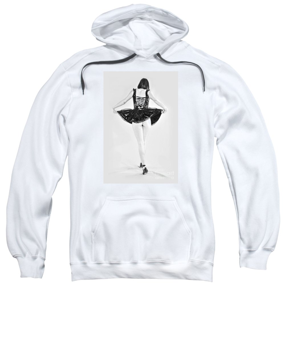 Artistic Sweatshirt featuring the photograph Following Dorothy by Robert WK Clark