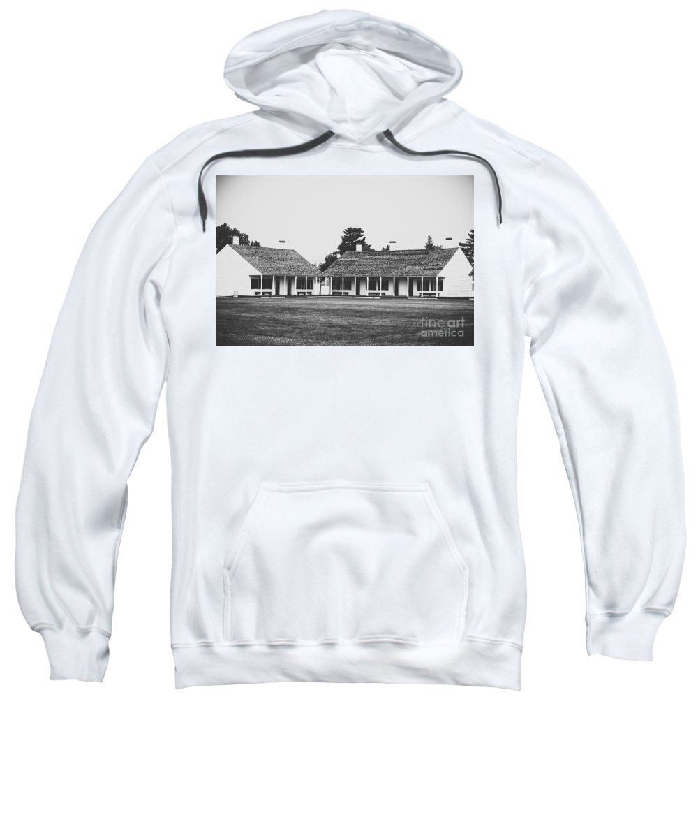 Fort Sweatshirt featuring the photograph Fort Living by Wesley Farnsworth