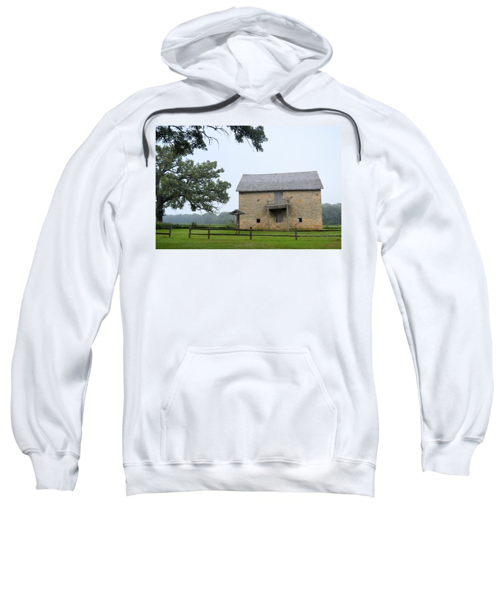 Fort Sweatshirt featuring the photograph Fort Severson by Bonfire Photography
