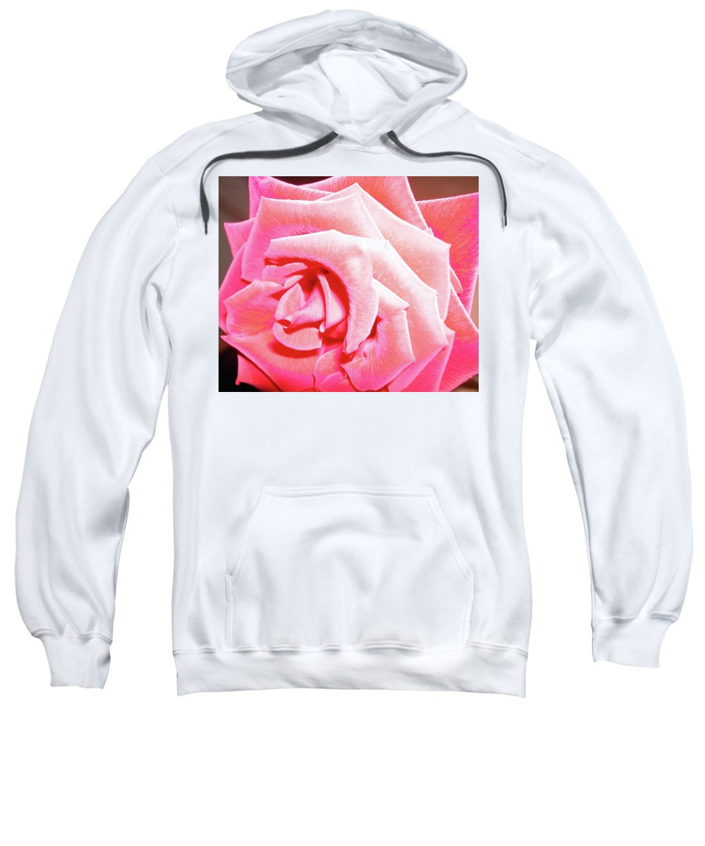 Rose Sweatshirt featuring the photograph Fragrant Rose by Marie Hicks
