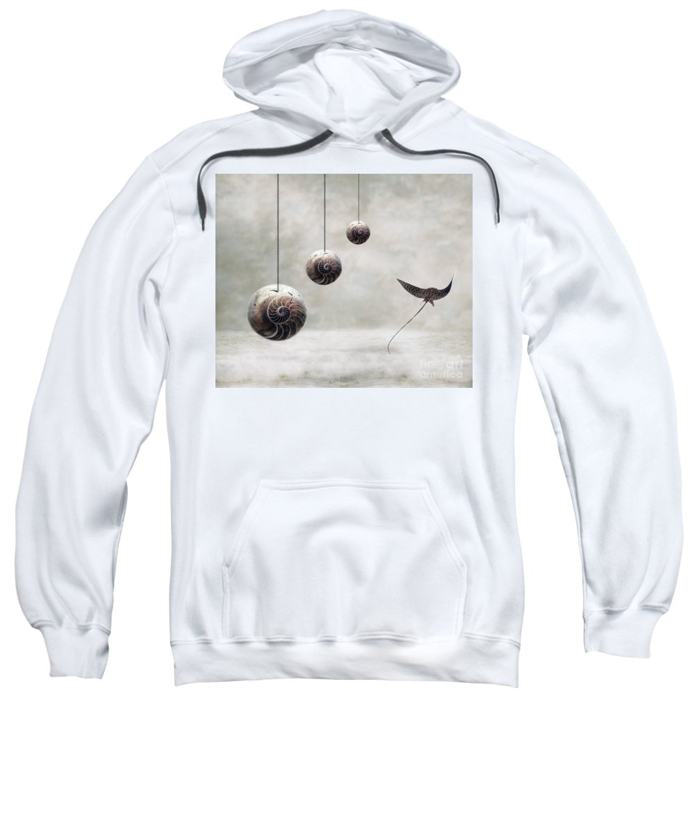 Surrealism Sweatshirt featuring the photograph Free by Jacky Gerritsen