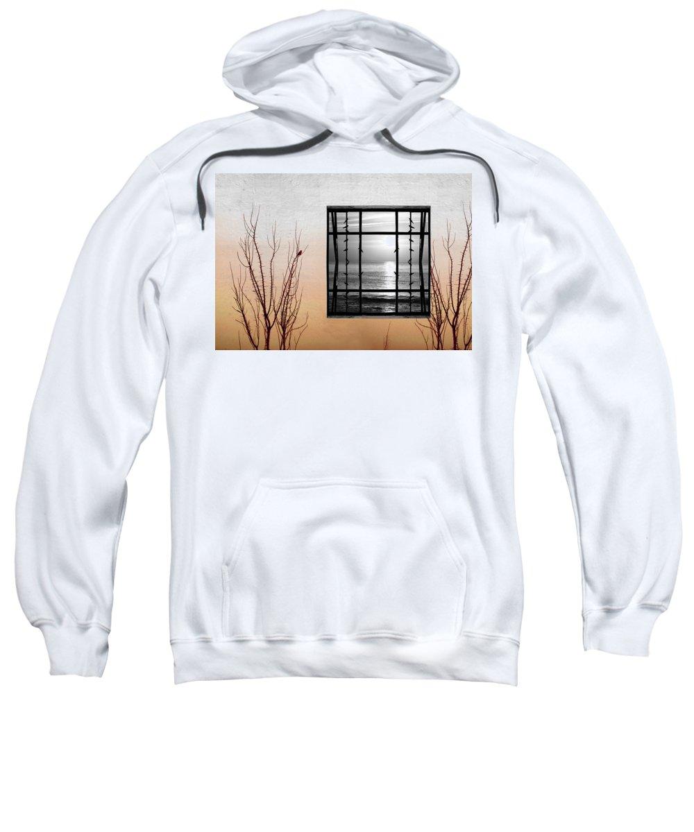 Digital Sweatshirt featuring the photograph Freeze by Munir Alawi