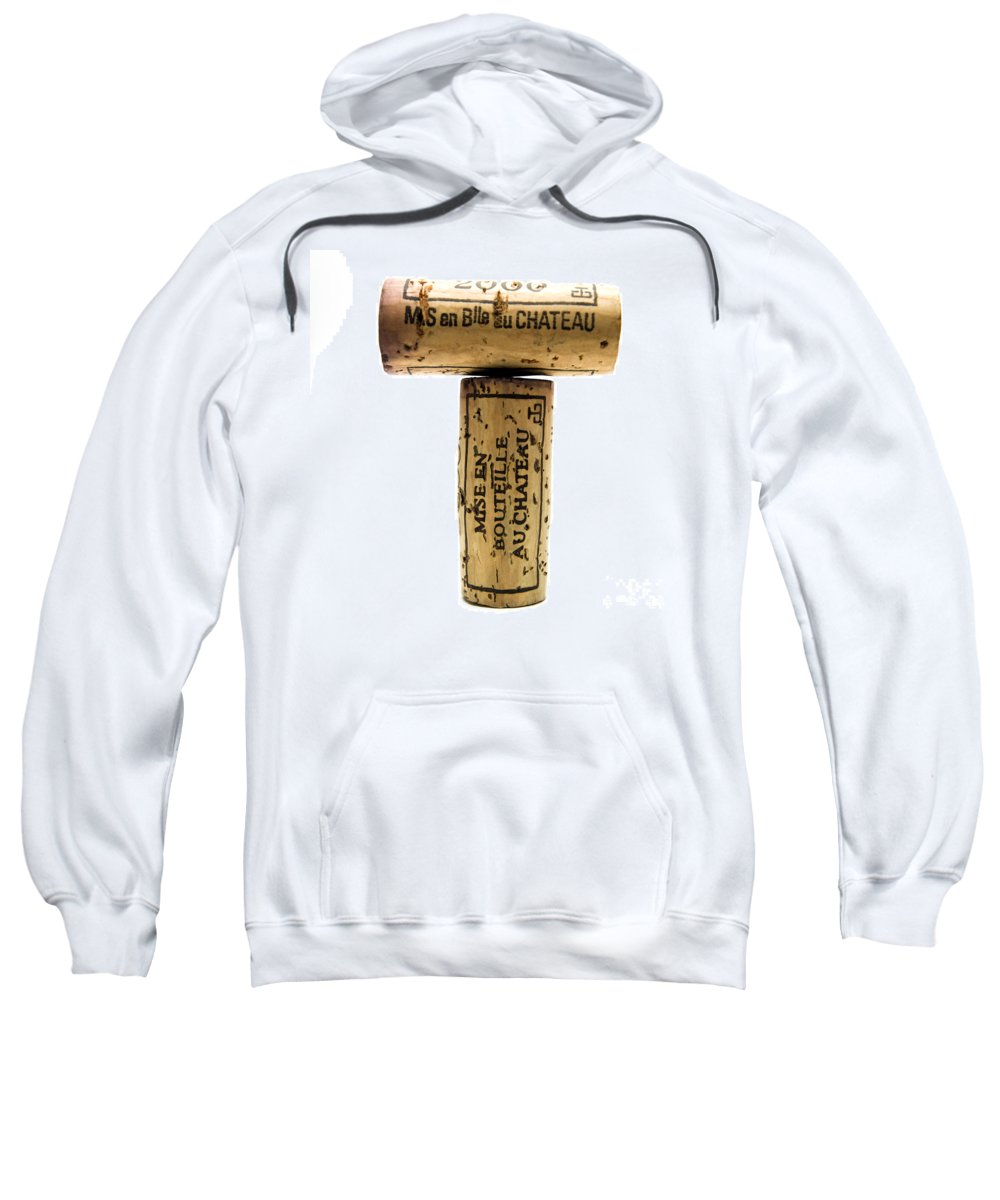 Food And Drink Sweatshirt featuring the photograph French Corks by Bernard Jaubert