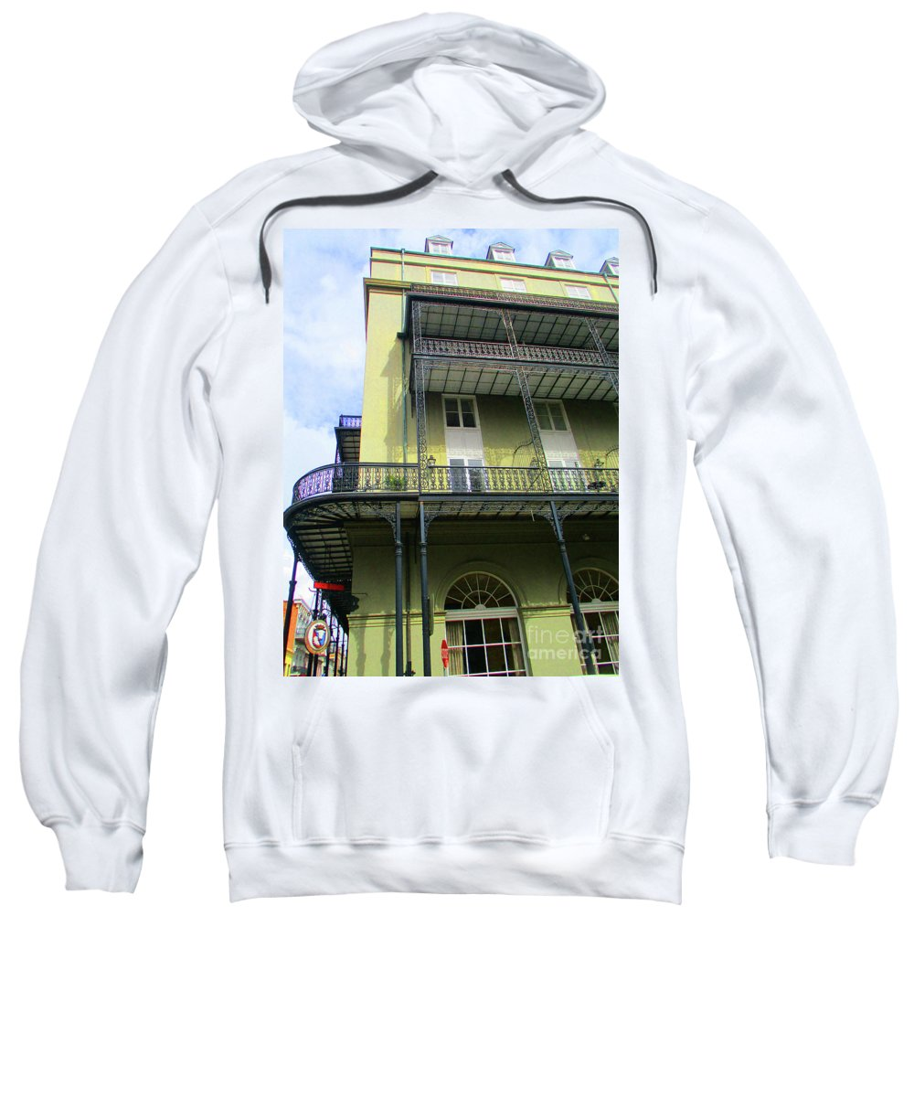 French Quarter Sweatshirt featuring the photograph French Quarter 11 by Randall Weidner