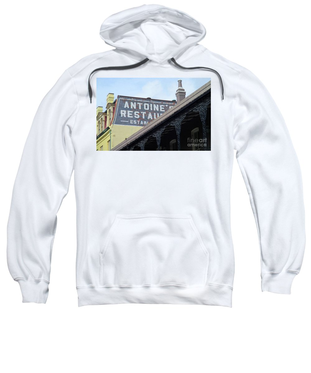 French Quarter Sweatshirt featuring the photograph French Quarter 12 by Randall Weidner