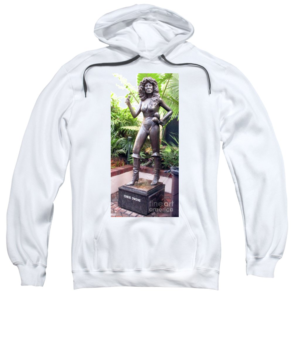 French Quarter Sweatshirt featuring the photograph French Quarter 31 by Randall Weidner