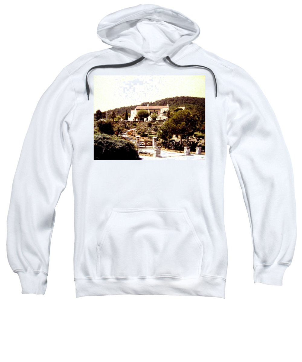 1955 Sweatshirt featuring the photograph French Riviera 1955 by Will Borden