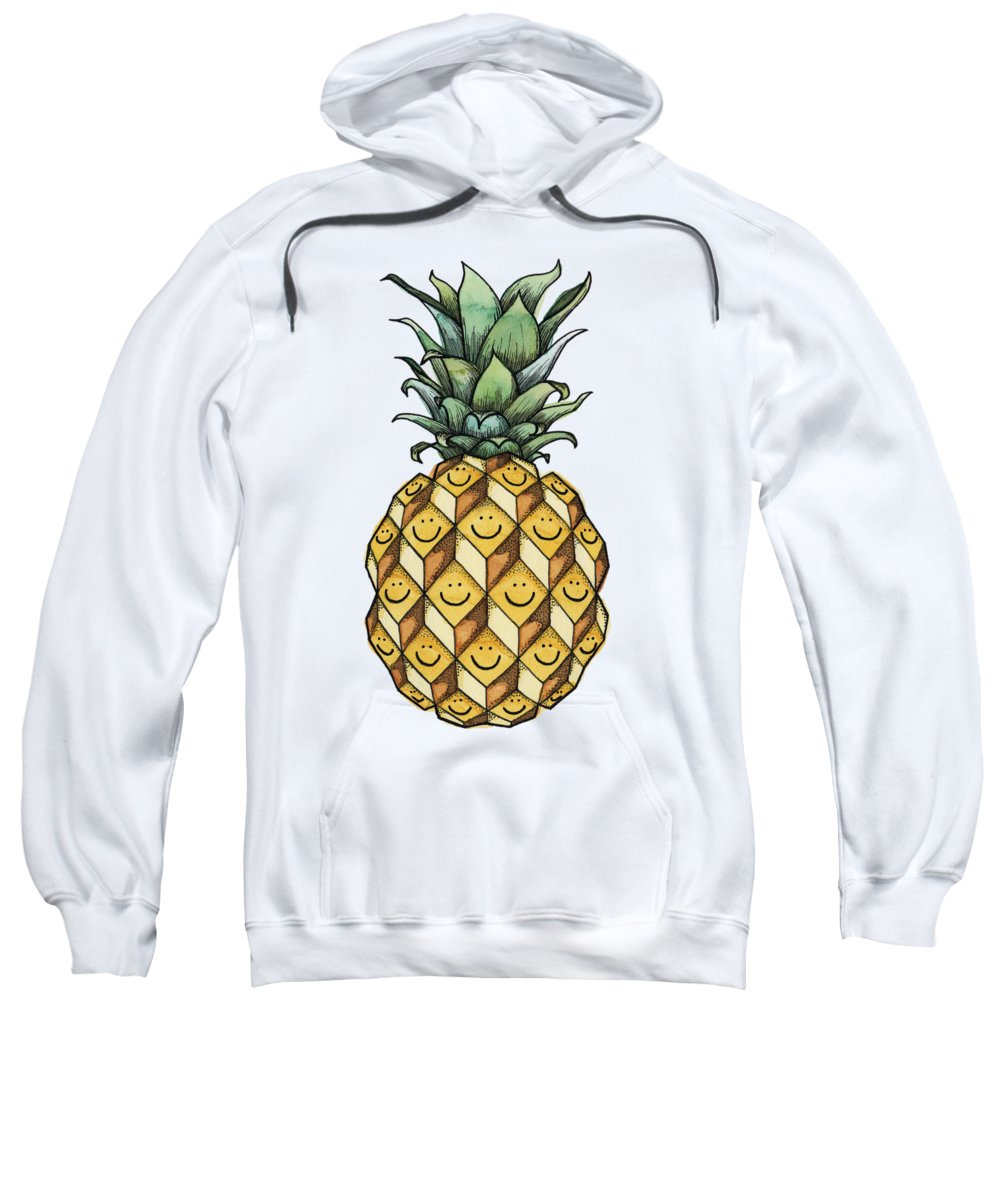 Fruit Sweatshirt featuring the painting Fruitful by Kelly Jade King