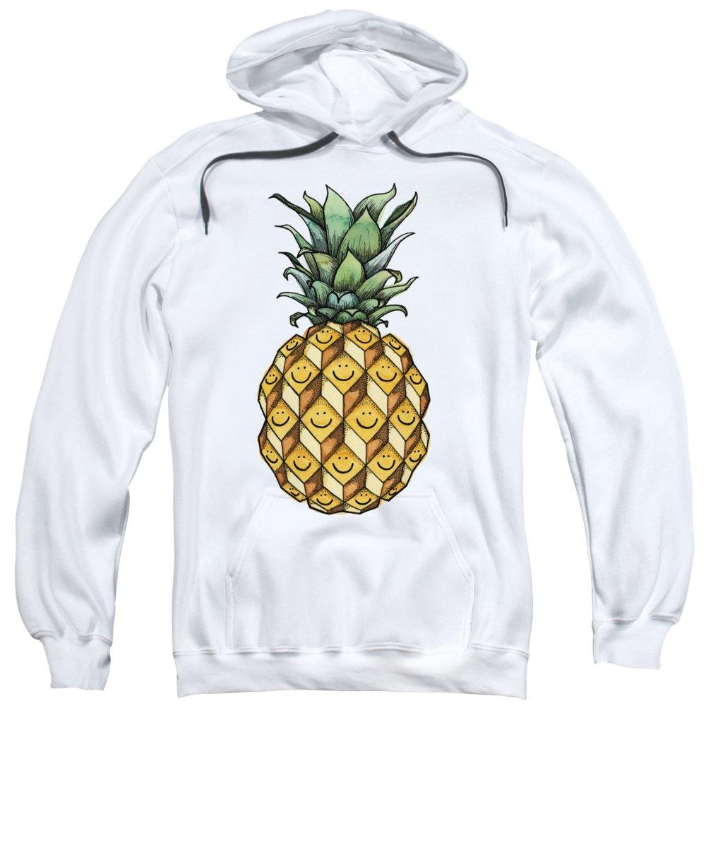 Pineapple Hooded Sweatshirts T-Shirts