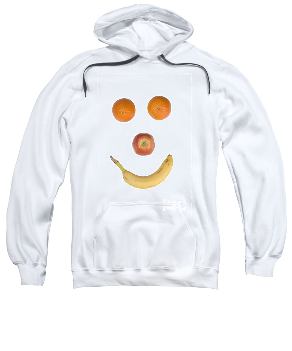 Fruit Sweatshirt featuring the photograph Fruity Happy Face by James BO Insogna