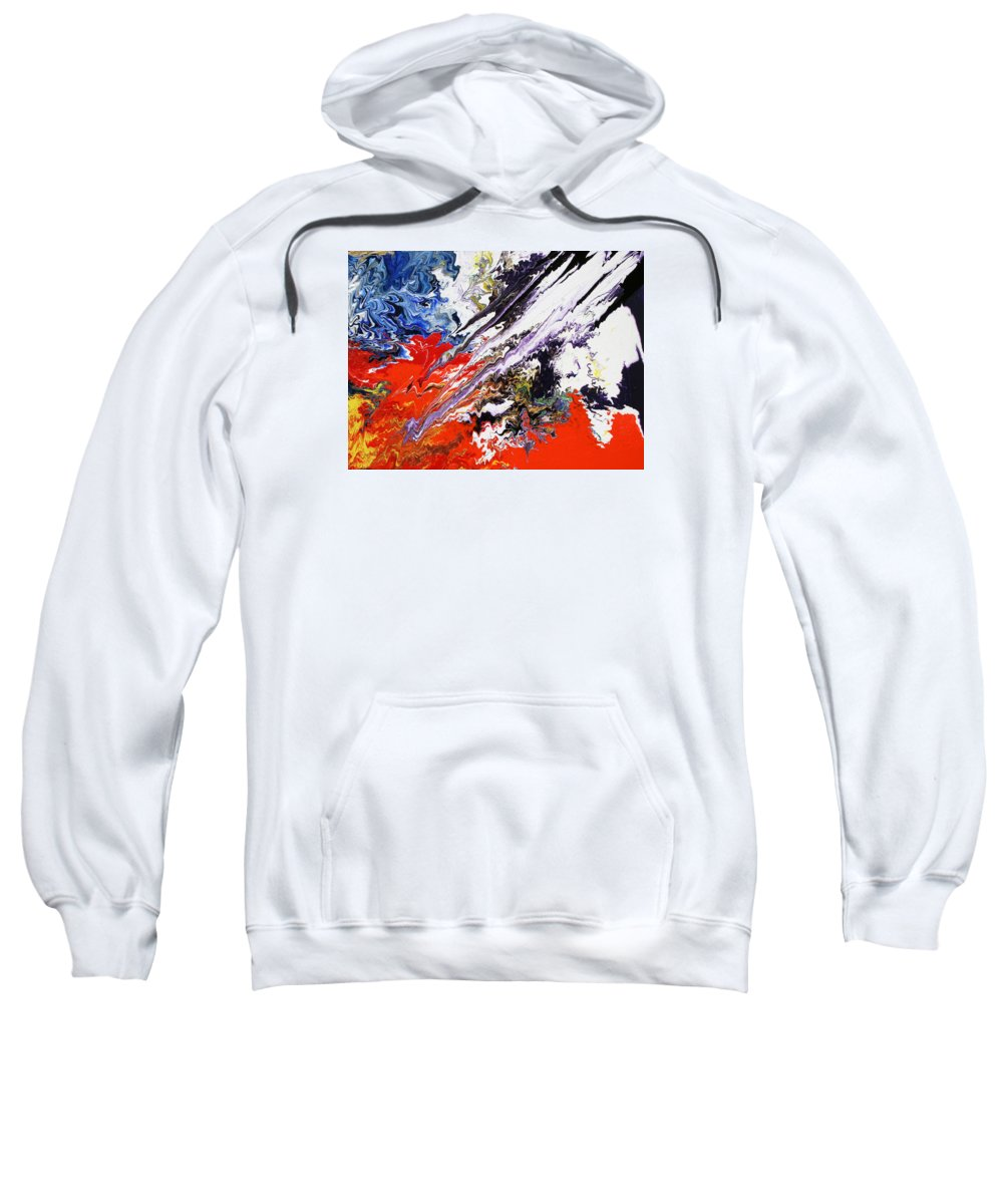 Fusionart Sweatshirt featuring the painting Genesis by Ralph White