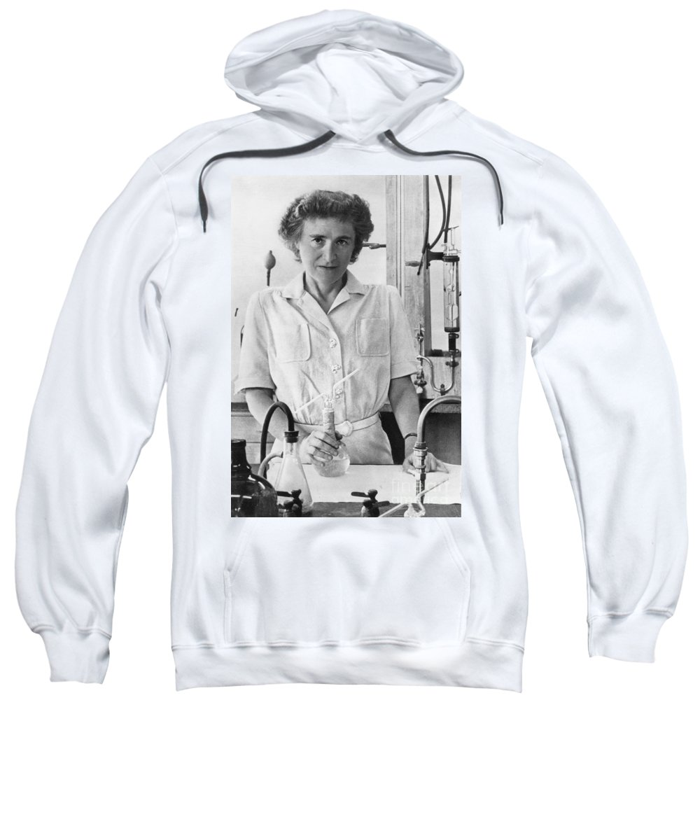 20th Century Sweatshirt featuring the photograph Gerty Theresa Cori by Granger