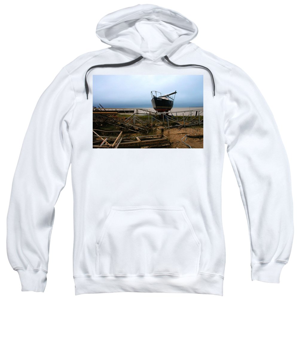 Clay Sweatshirt featuring the photograph Ghost by Clayton Bruster