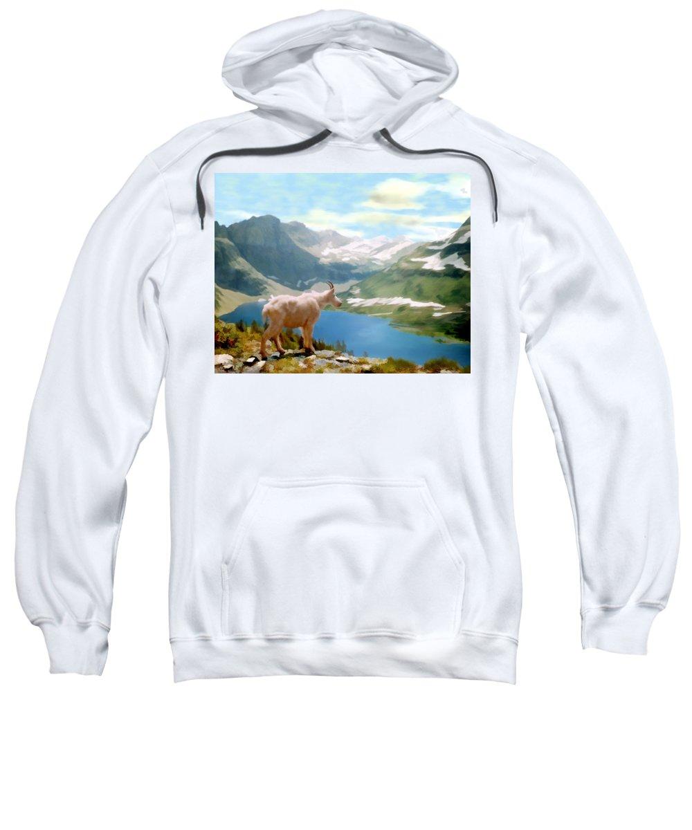 Landscape Sweatshirt featuring the photograph Glacier National Park by Kurt Van Wagner