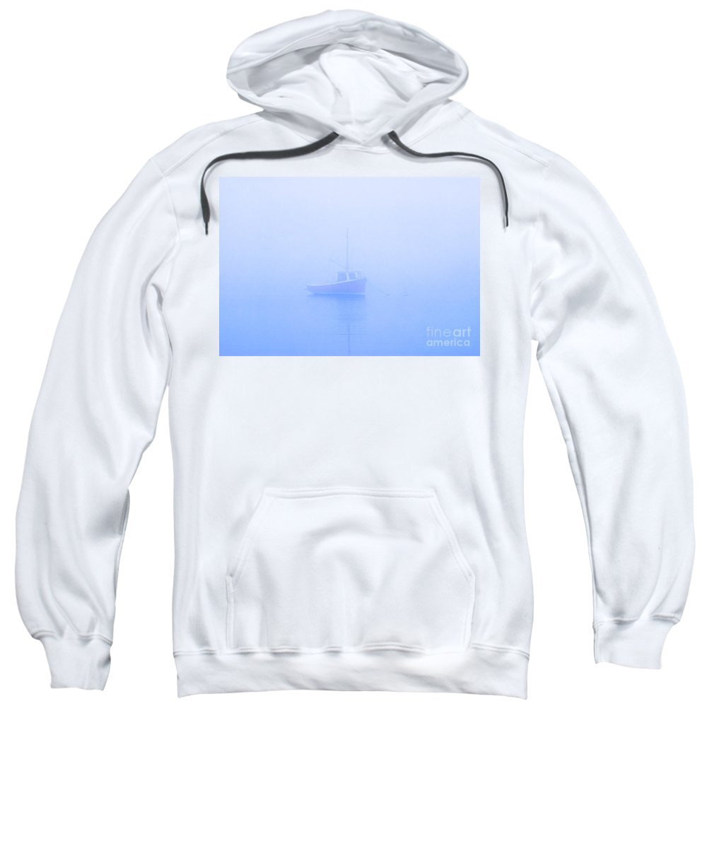 Boat Sweatshirt featuring the photograph Gog Boat by John Greim