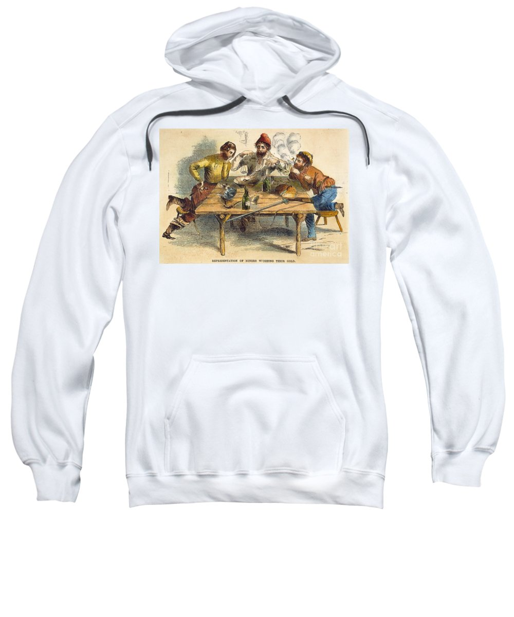 1853 Sweatshirt featuring the photograph Gold Rush by Granger