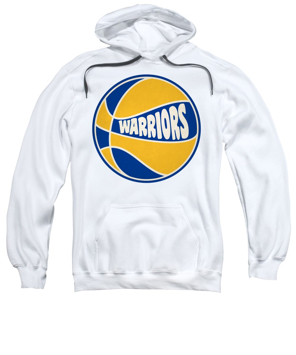 Warriors Sweatshirt featuring the photograph Golden State Warriors Retro Shirt by Joe Hamilton