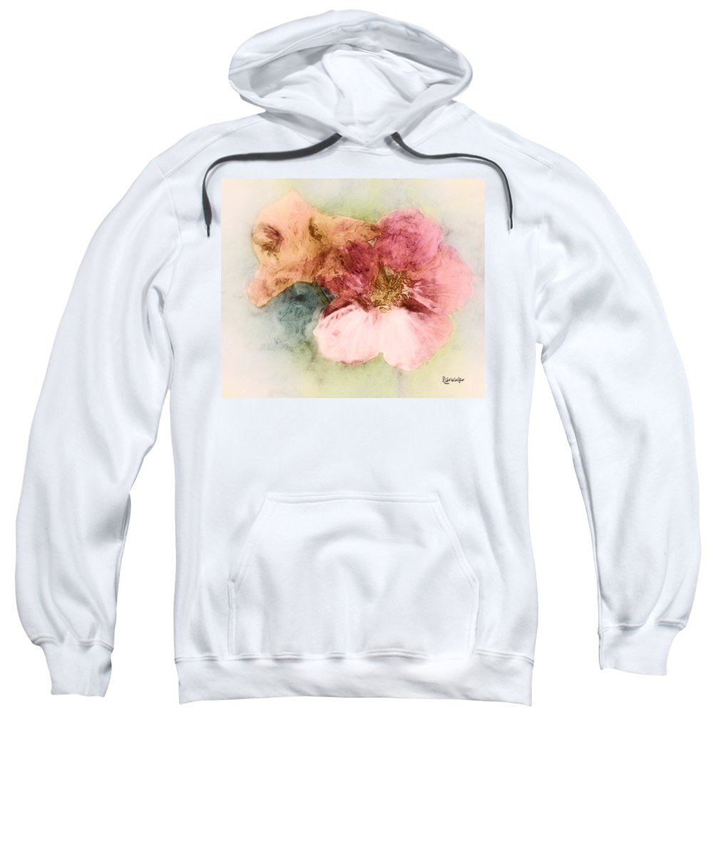 Flowers Sweatshirt featuring the digital art Gone Native by RC DeWinter