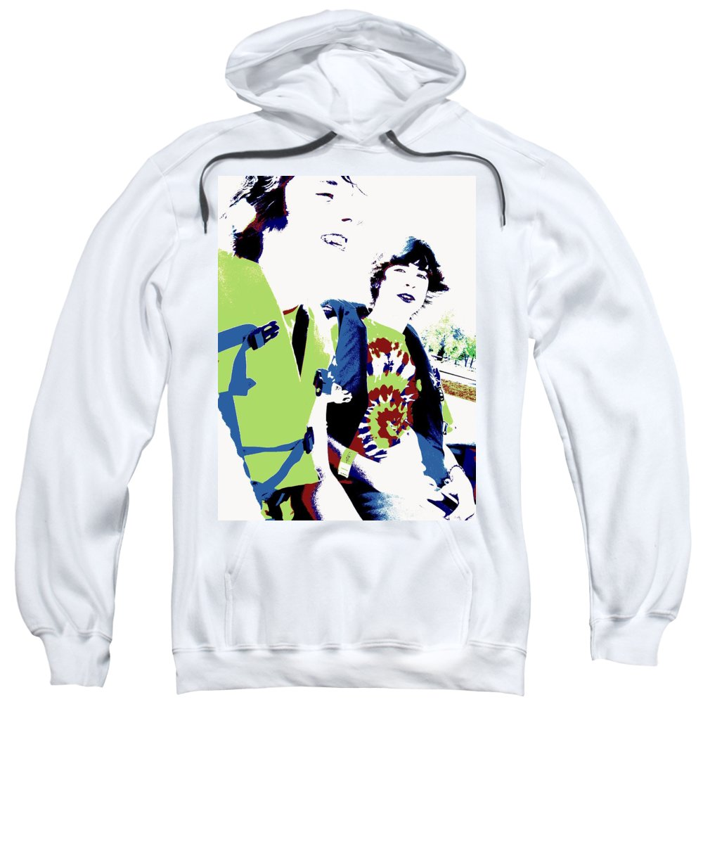 Good Friends Sweatshirt featuring the photograph Good Friends by Ed Smith