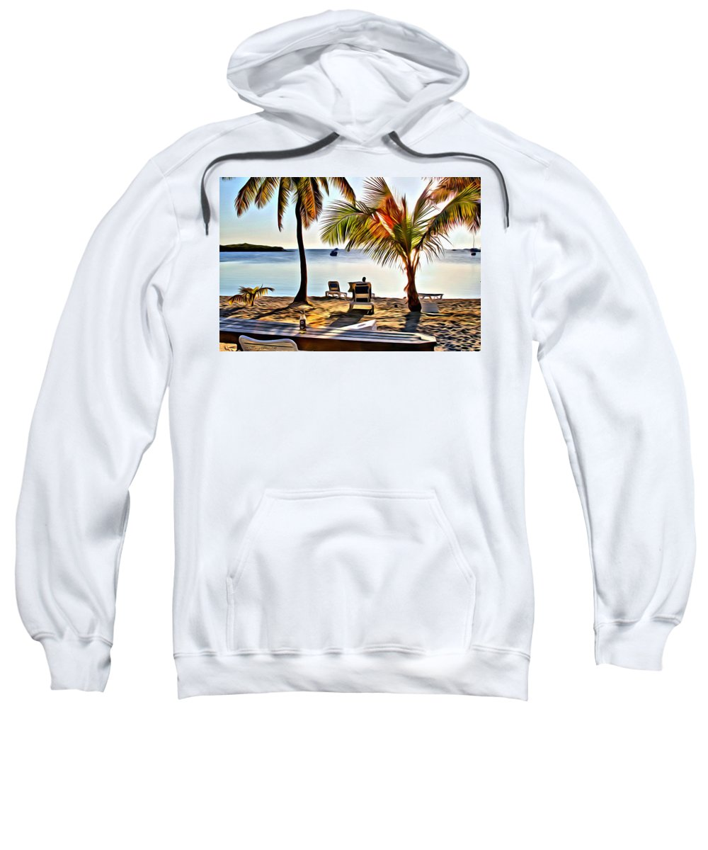 Grabbers Sweatshirt featuring the digital art Grabbers View by Anthony C Chen
